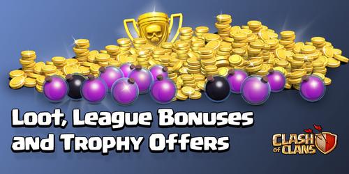Sneak Peek Loot, League Bonus, Trophy Offers