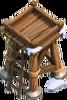 Bogenschützenturm 3 Winter