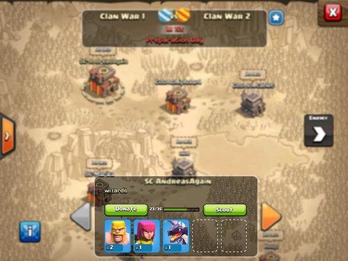 Clankrieg-Truppenspenden-FaQ