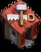 Red Builders Hut