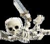 Skelett (Skelettballon)