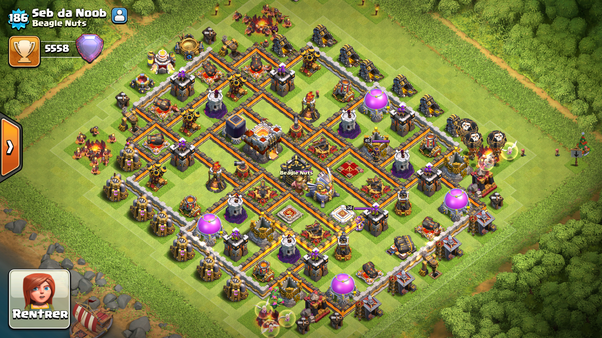 Image hdv11 hybride wiki clash of clans fandom for Best of the best wiki