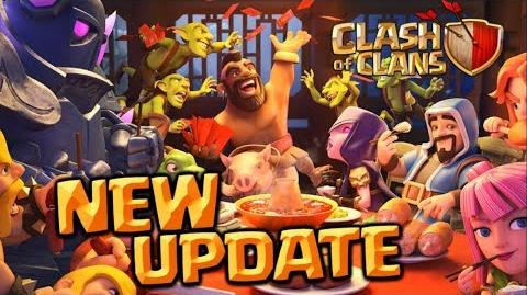 UPDATE NOW! Clash of Clans Lunar New Year Update - CoC Limited Edition Obstacles 2018!