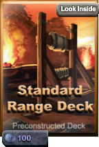 Standard ranged deck