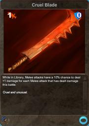 284 Cruel Blade
