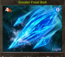 Greater Frost Bolt