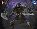 0 Skeleton Warrior Mini