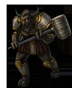 Beastman warlord