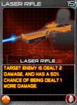 Munitions LaserRifle