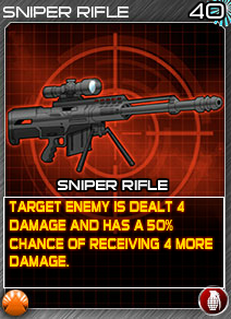 Munitions SniperRifle