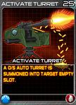 Munitions ActivateTurret