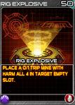 Munitions RigExplosive