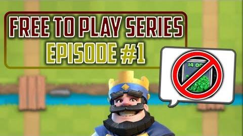 WE WENT FOR A WORLD RECORD!? Clash Royale Free to Play Series Episode 1
