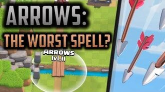 Arrows Are Clash Royale's WORST SPELL - and here's why... Clash Royale Theory Strategy