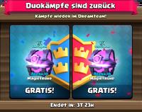 Duokampf-Sonderangebot
