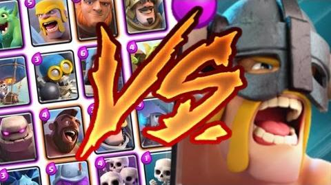 Clash Royale - ELITE BARBARIANS vs BARBS v ALL