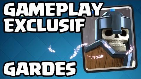 SNEAK PEEK CLASH ROYALE LES GARDES ! GAMEPLAY EN EXCLU !