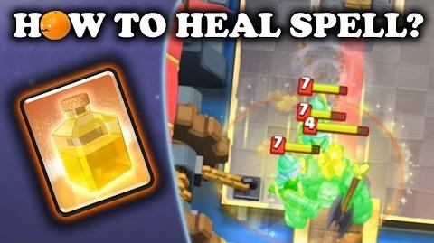 How to Use Heal Spell Clash Royale