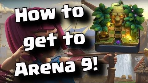 ★ How to get to Jungle Arena! ★ Arena 9 Best Deck ★ Clash Royale
