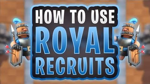 Clash Royale How to Use Royal Recruits