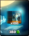 Grabstein-Angebot 100 Karten