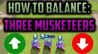 HOW DO WE FIX THREE MUSKETEERS!? An In-Depth Review to the State of 3m, and Desired Balance Changes!