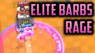 I will only play elite barbs rage on ladder for an entire month... - Episode 9 - Clash Royale