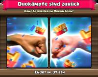Duokampf-Sonderangebot gekauft