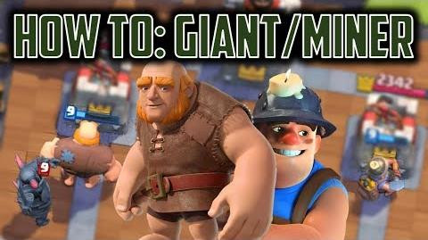 How to Use Giant + Miner Clash Royale Advanced Archetype Guide + Theory