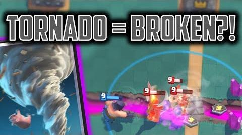 Tornado - THE MOST OP CARD!? Clash Royale