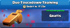 Duo-Touchdown-Training