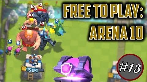MORE MAGICAL CHESTS + ARENA 10 Free to Play Series Episode 13
