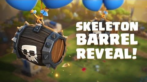 Clash Royale - Welcome to the Arena SKELETON BARREL!