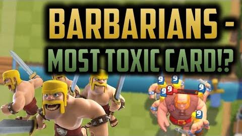 WILL THE NEW BARBARIANS BREAK THE GAME!? Why Barbarians MIGHT just be TOXIC in Clash Royale