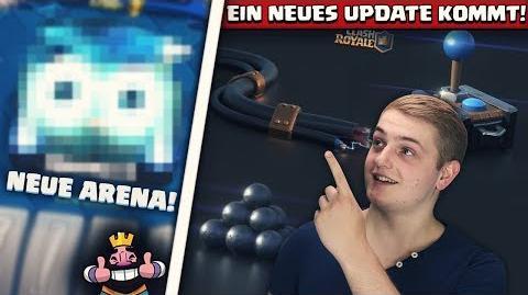 🚨HEUTE NEUES UPDATE! NEUE KARTEN, ARENA UND TRUHEN! Clash Royale Deutsch Update