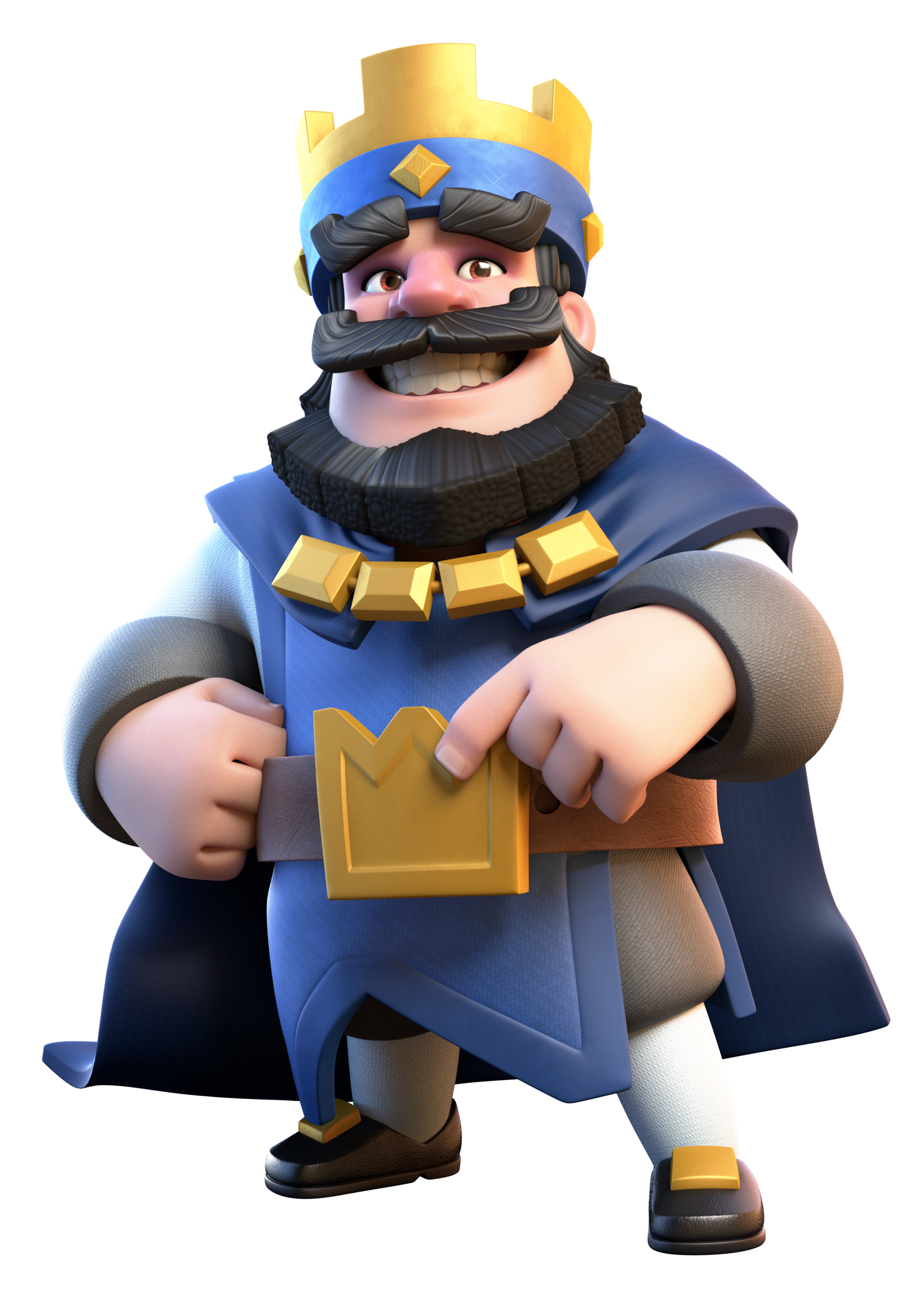 Image - Blue King.png | Clash Royale Wiki | FANDOM powered ...