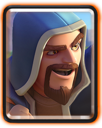 Image result for wizard from clash royale