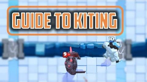 LEARN TO KITE (the very basics) Clash Royale Strategy Guide to Kiting