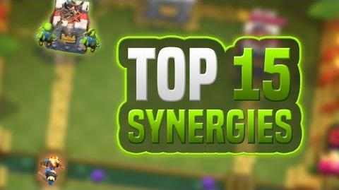 TOP 15 SYNERGIES IN CLASH ROYALE
