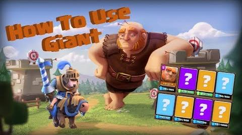 Clash Royale How to Use The Giant