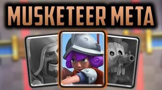 Why does Musketeer DOMINATE the Clash Royale Meta?... Clash Royale Theory and Strategy