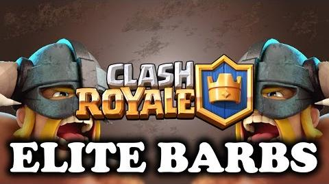 Clash Royale - Elite Barbarians - Hits Harder Than Fireball!
