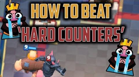 HOW TO BEAT EVERY HARD COUNTER Win EVERY Matchup w Pro Skills - Clash Royale Advanced Strategy