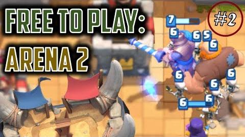 DESTROYING KIDS IN ARENA 1 Clash Royale Free to Play Series Episode 2