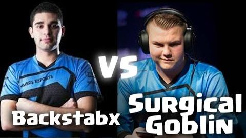 Surgical Goblin vs Backstabx (Practice Match) Full Game ♥ Clash Royale