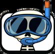Skeleton Snorkel