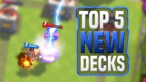 Best 5 Decks after the April 2018 Balance Changes Clash Royale