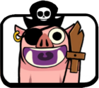 Pirate Hog