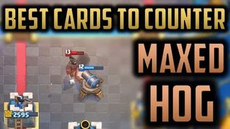 HOW TO COUNTER MAXED HOG RIDER - The Best Counters to Ladder's Best Win Condition Clash Royale