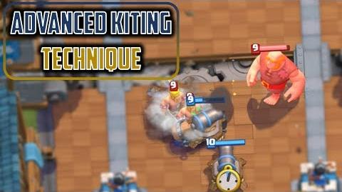 LEARN TO KITE (advanced tech) Clash Royale Advanced Guide to Kiting